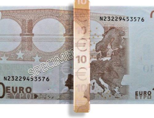 Iriserende strook-10 Euro-1eGen